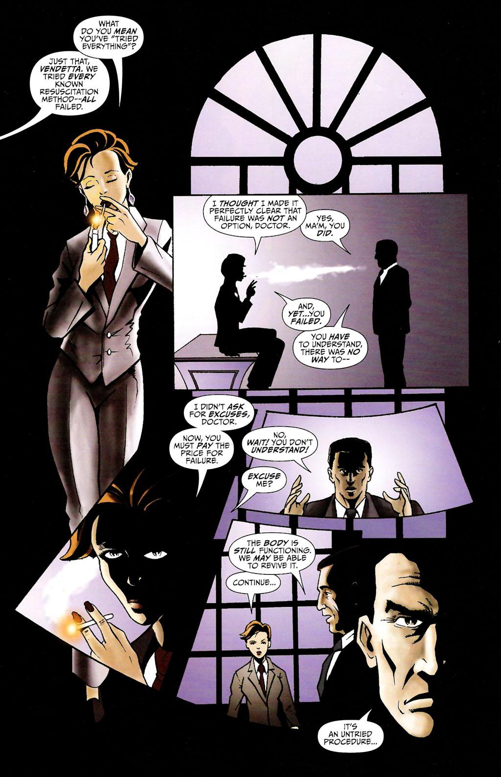 Read online ShadowHawk (2005) comic -  Issue #11 - 16