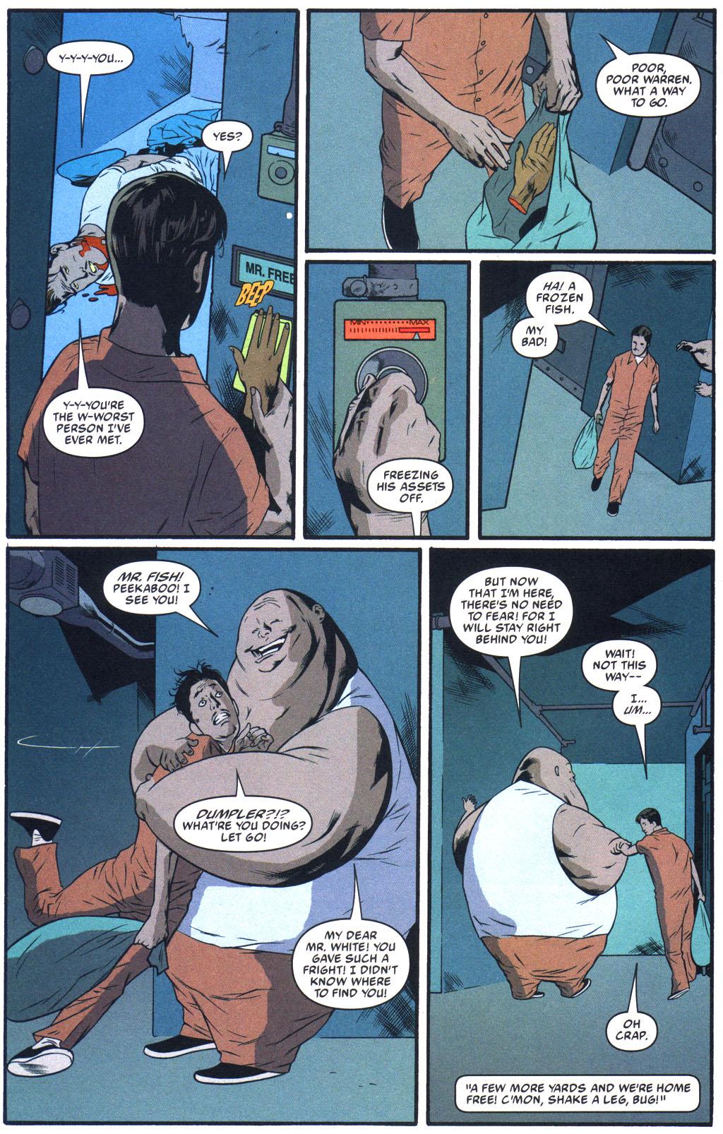 Read online Arkham Asylum: Living Hell comic -  Issue #5 - 21