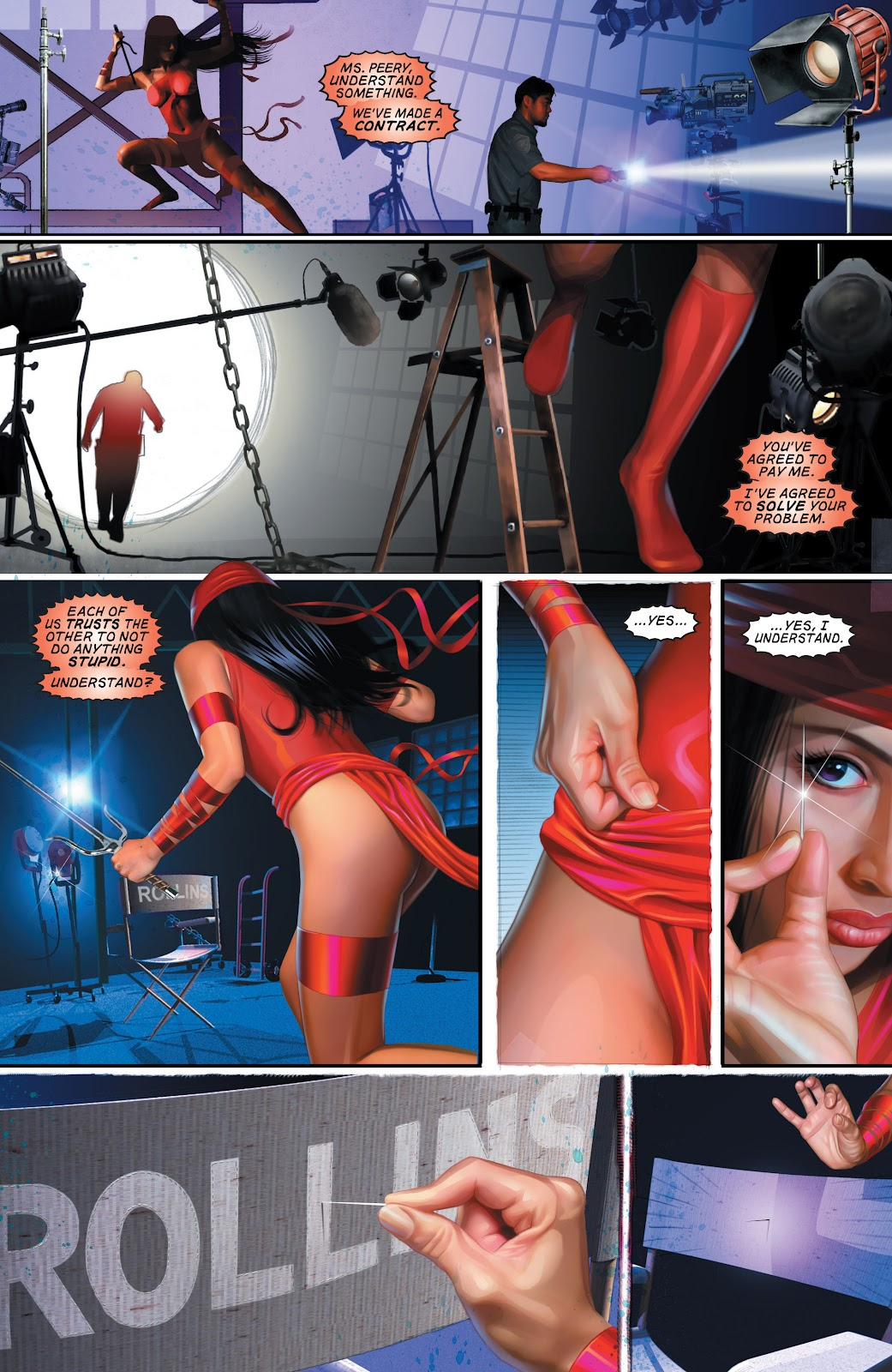 Read online Elektra (2001) comic -  Issue # _TPB Elektra by Greg Rucka Ultimate Collection (Part 1) - 81