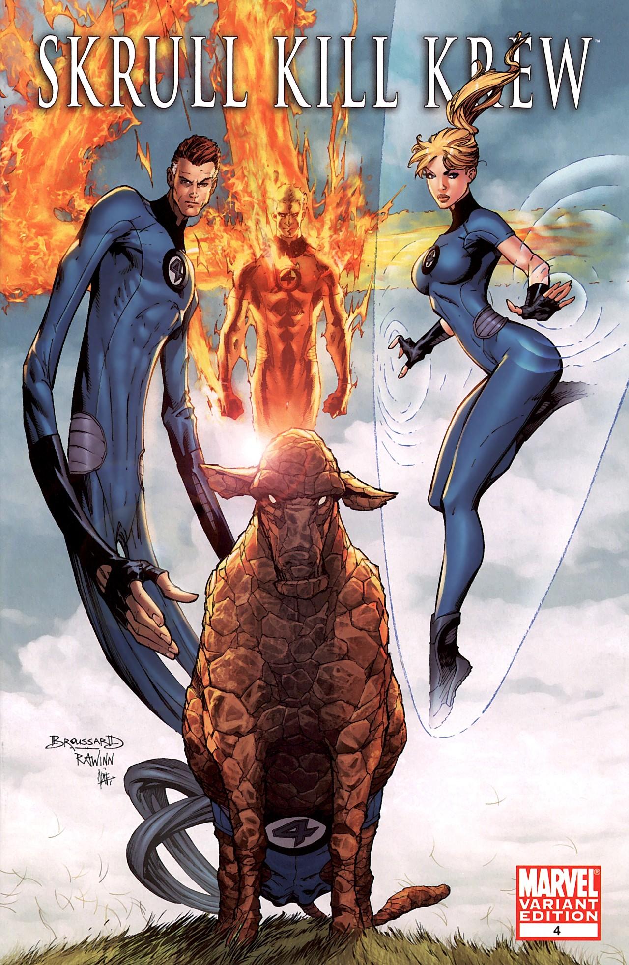 Read online Skrull Kill Krew (2009) comic -  Issue #4 - 2