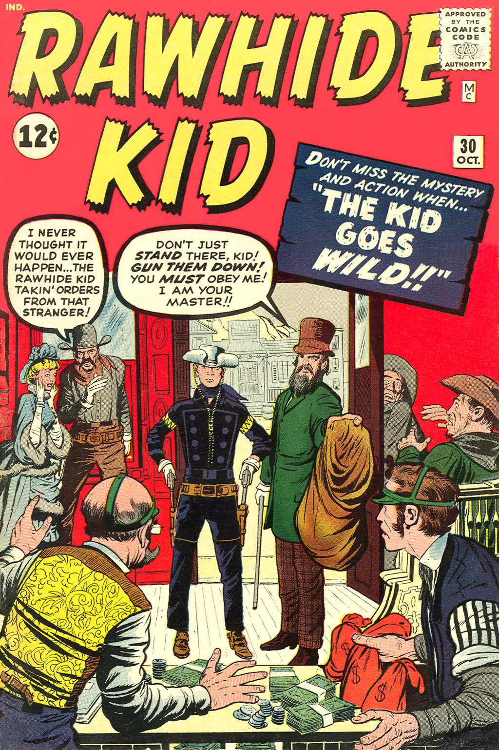 The Rawhide Kid (1955) issue 30 - Page 1