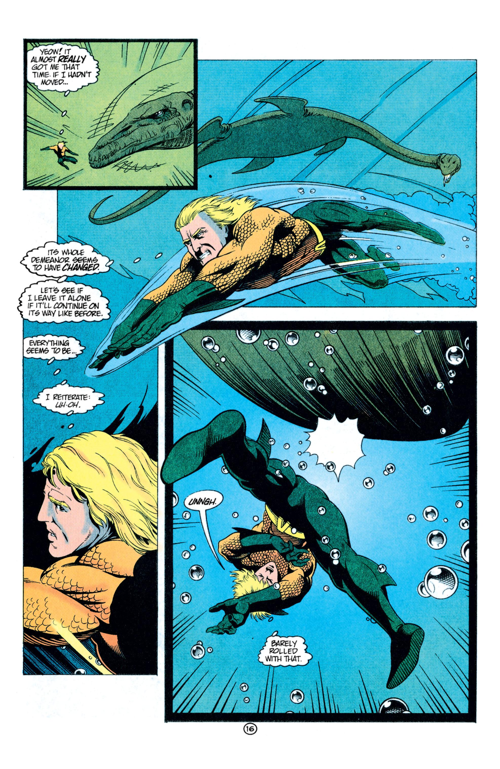 Read online Aquaman (1991) comic -  Issue #11 - 17