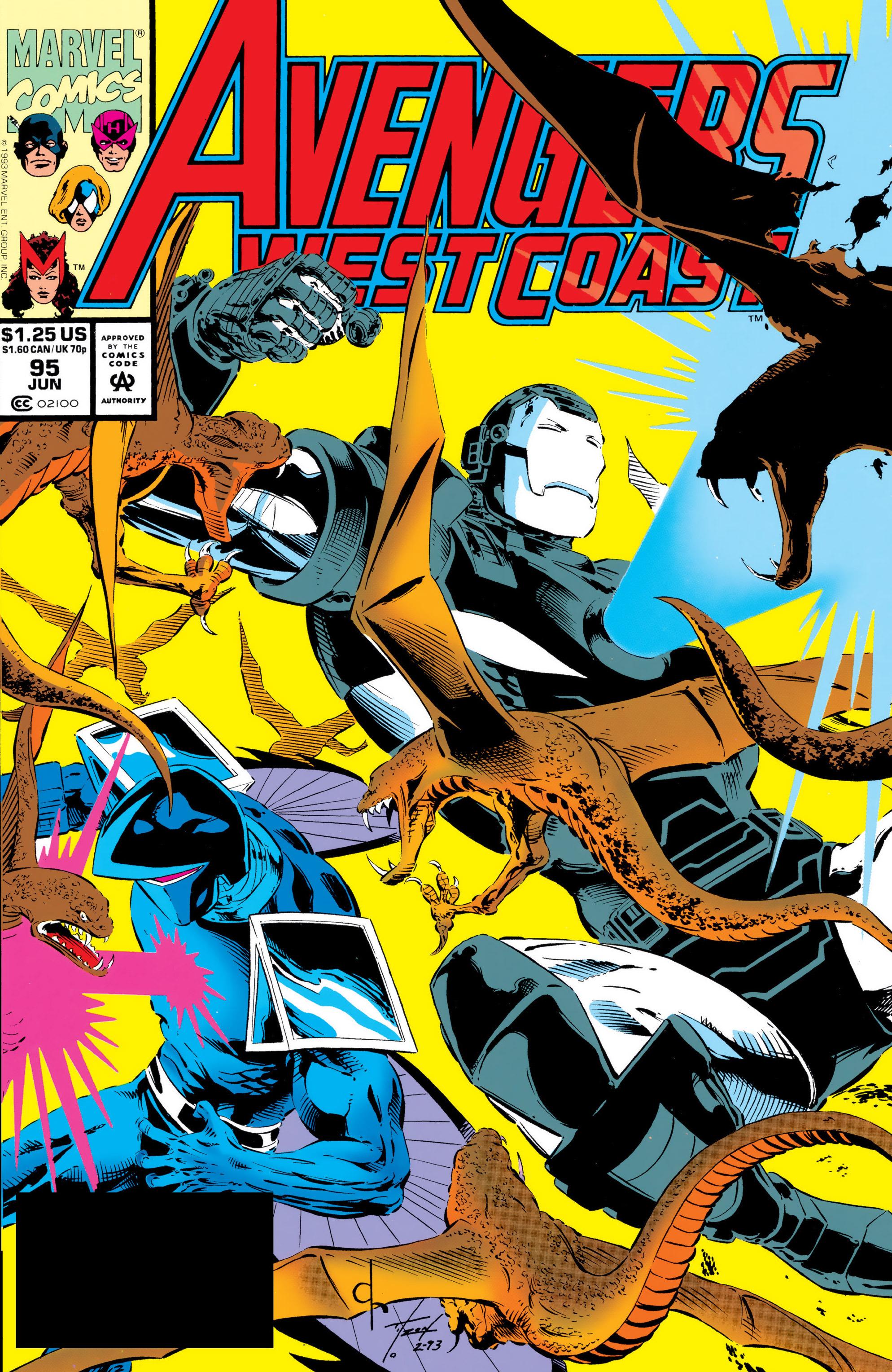 Avengers West Coast (1989) 95 Page 1
