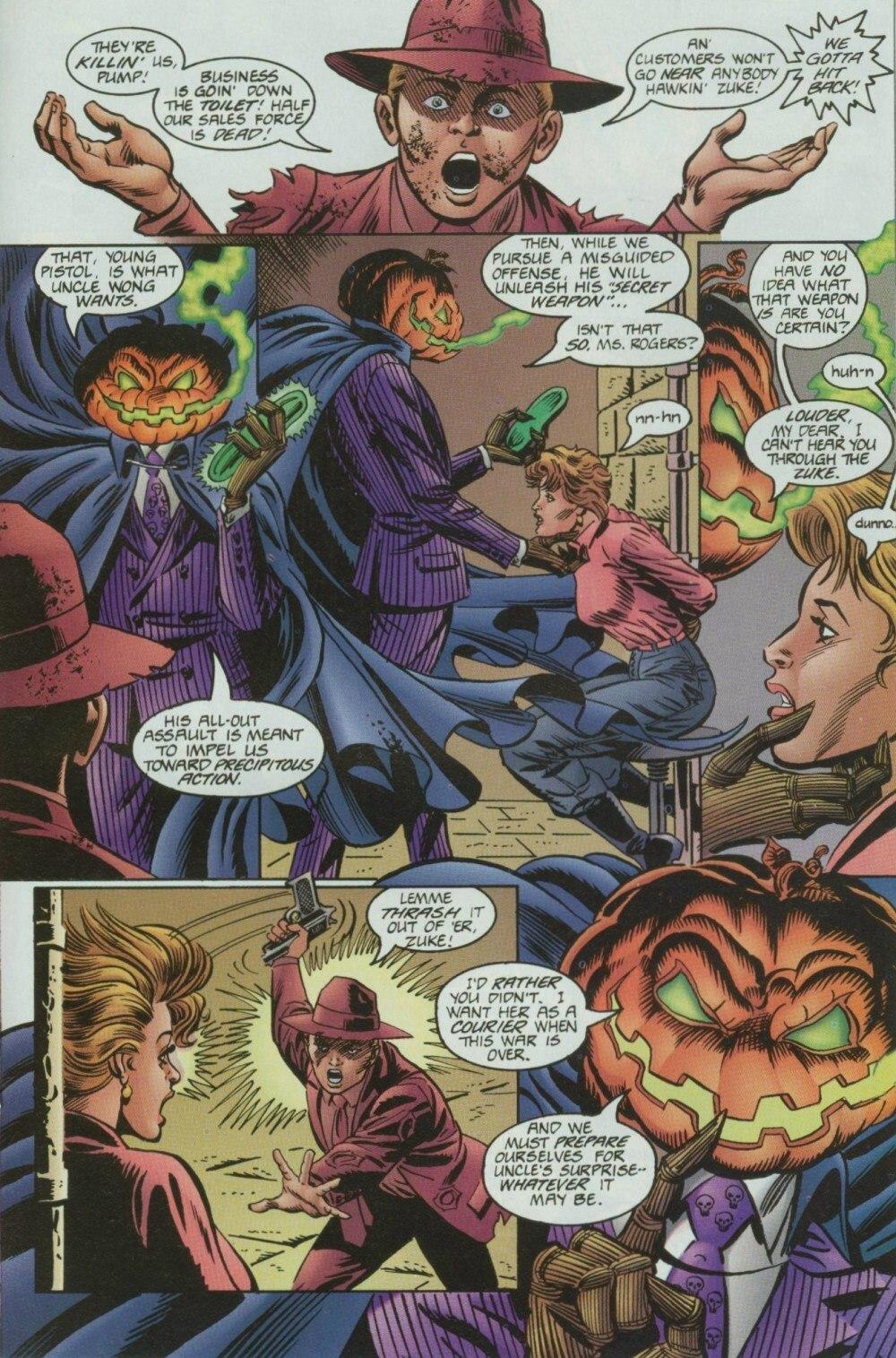 Read online Sludge comic -  Issue #9 - 19
