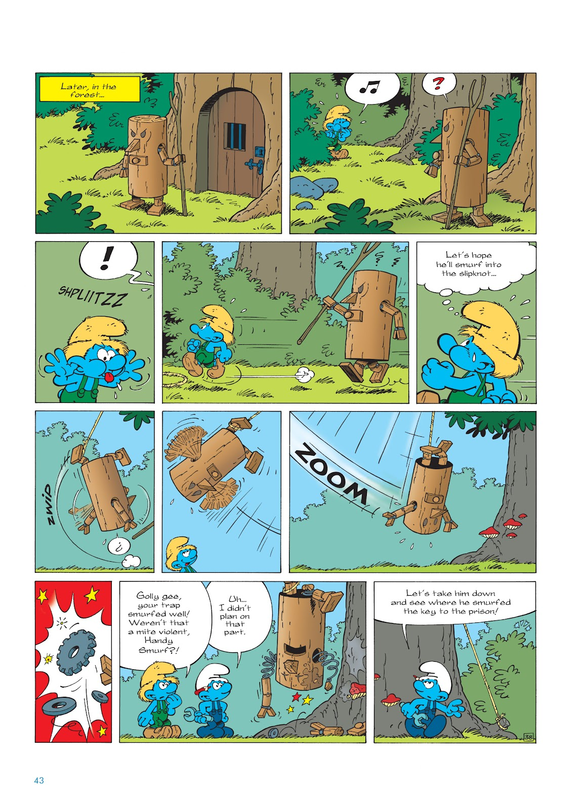 Read online The Smurfs comic -  Issue #23 - 43