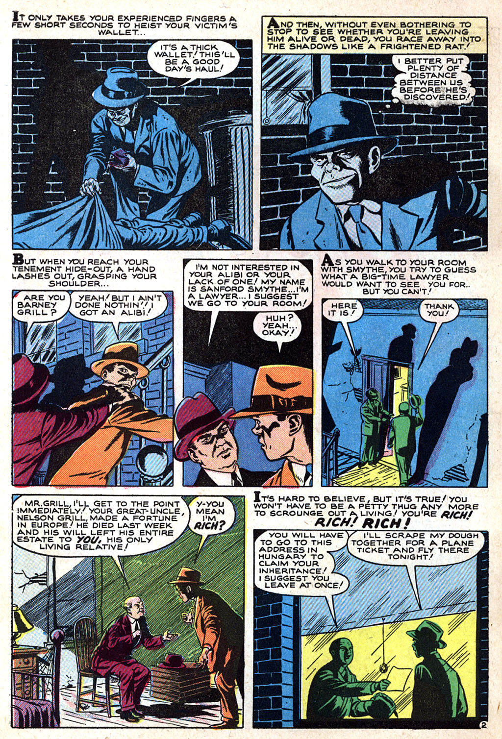 Read online Adventures into Weird Worlds comic -  Issue #17 - 4