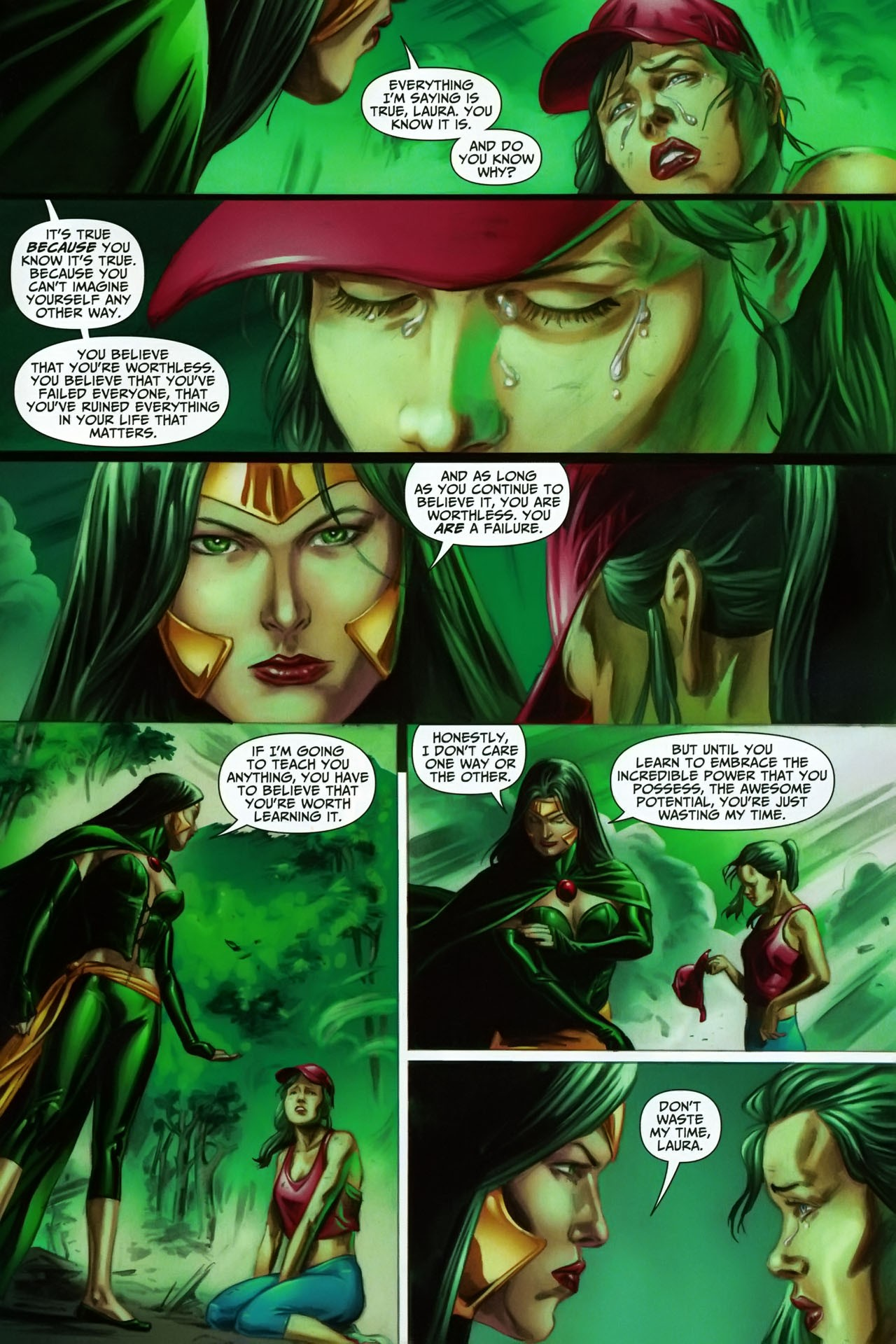 Read online Shadowpact comic -  Issue #17 - 21