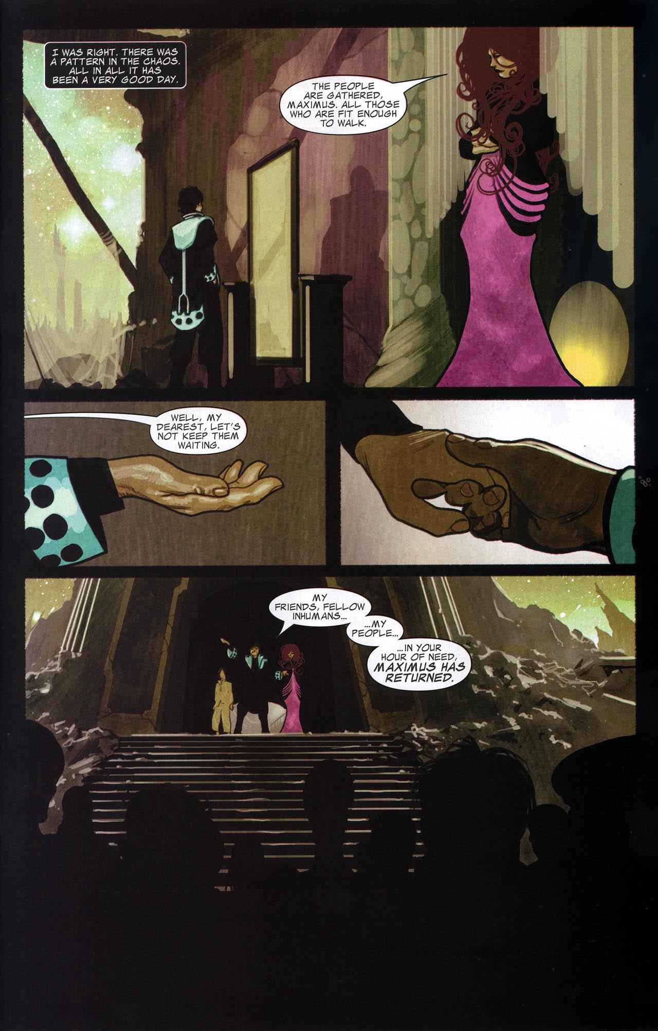 Read online Silent War comic -  Issue #6 - 21