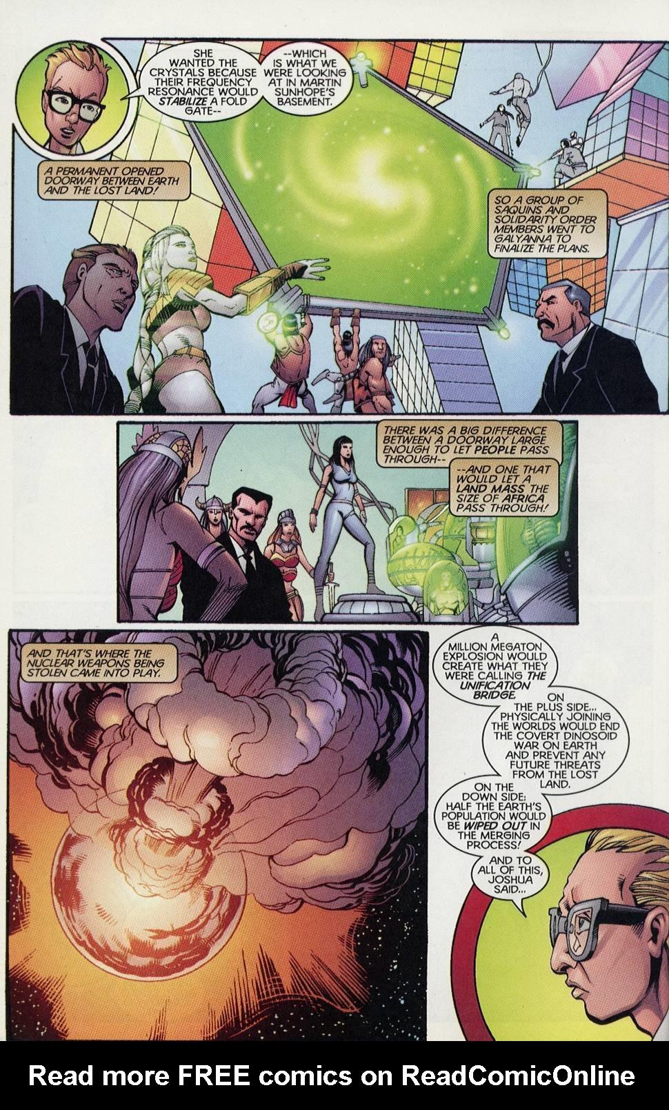 Read online Turok comic -  Issue #4 - 8