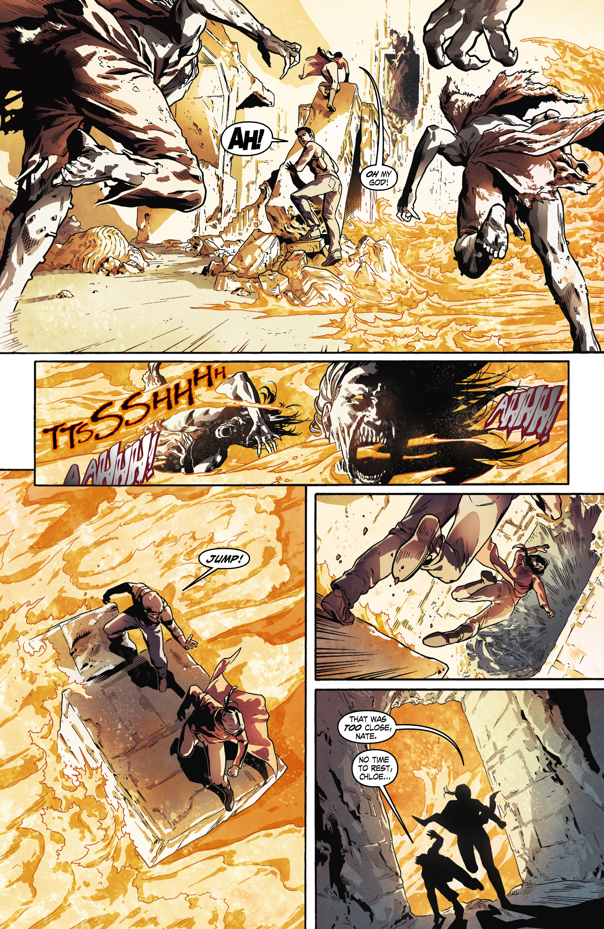 Read online Uncharted comic -  Issue #6 - 7