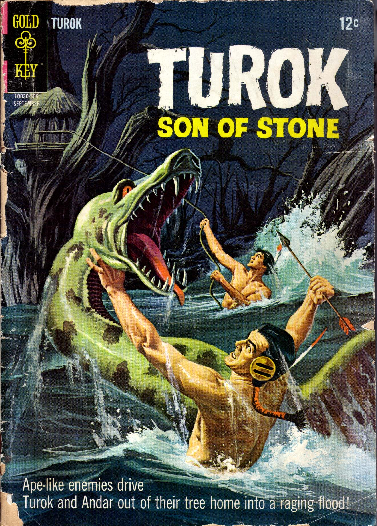 Read online Turok, Son of Stone comic -  Issue #47 - 1