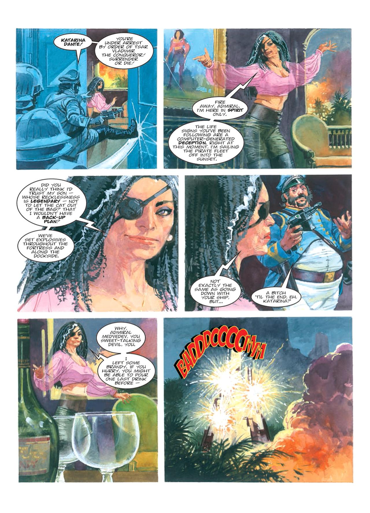 Read online Nikolai Dante comic -  Issue # TPB 9 - 97