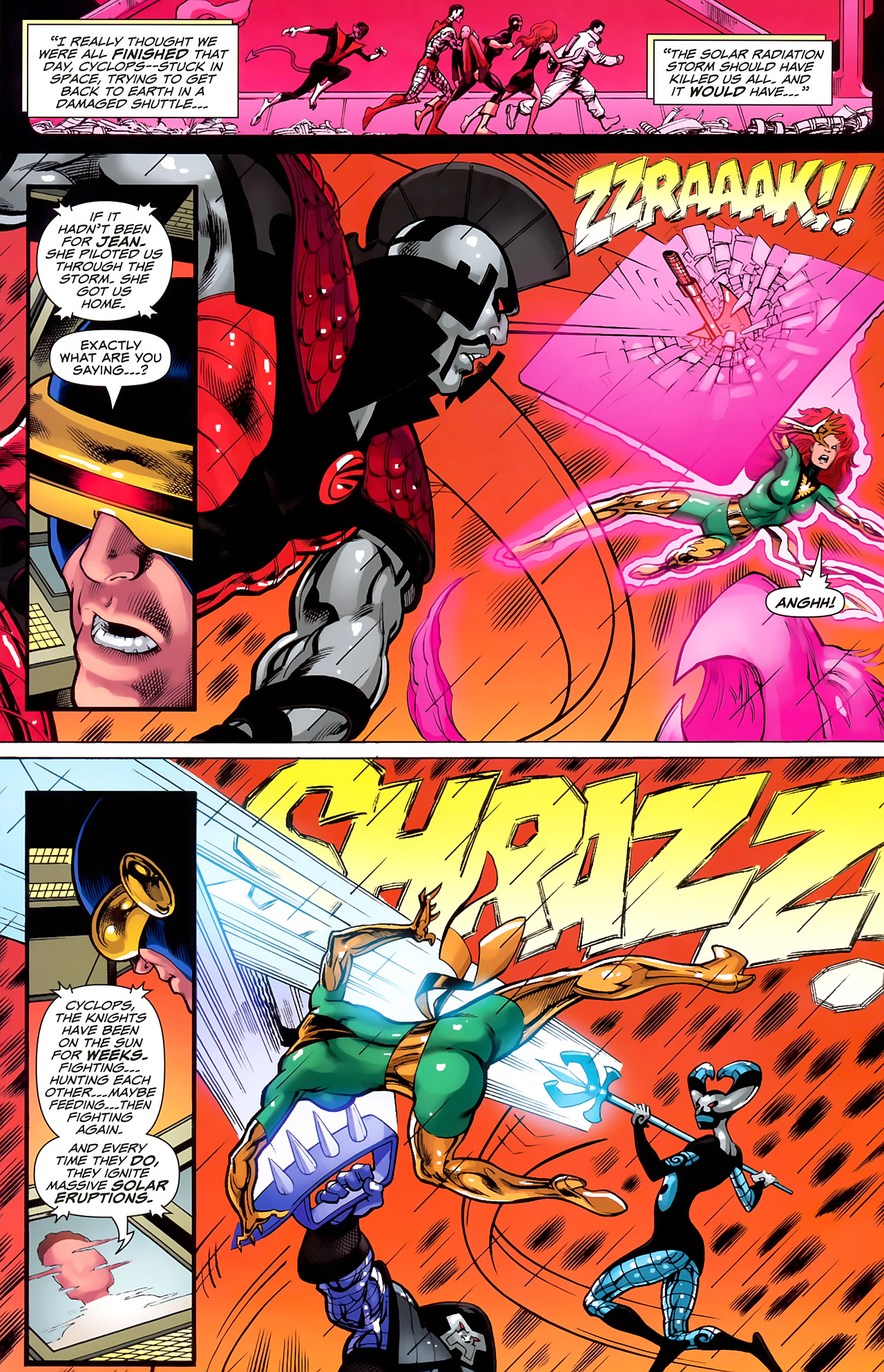 Read online Uncanny X-Men: First Class comic -  Issue #6 - 21