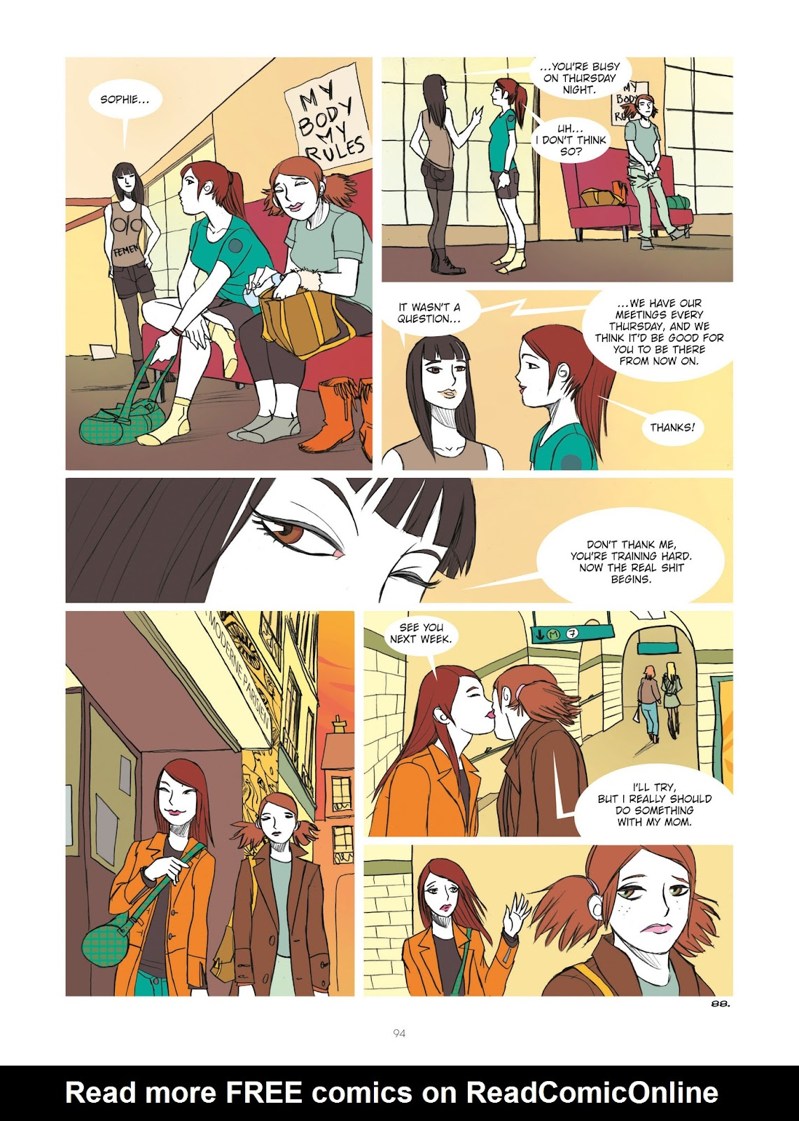 Read online Diary of A Femen comic -  Issue # TPB - 96