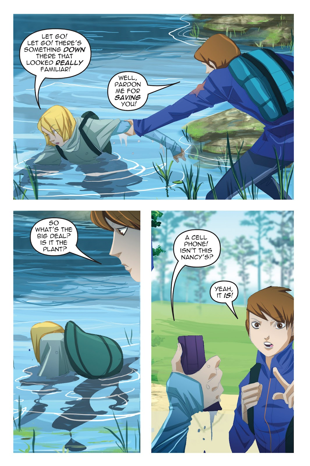 Read online Nancy Drew comic -  Issue #19 - 45