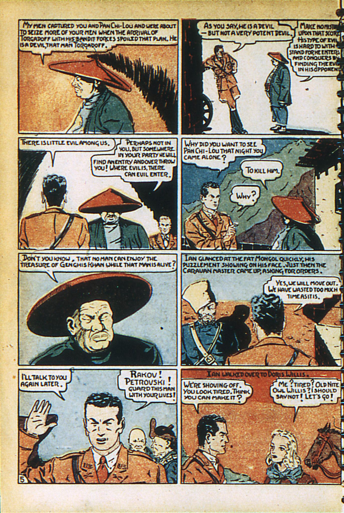 Read online Adventure Comics (1938) comic -  Issue #27 - 14