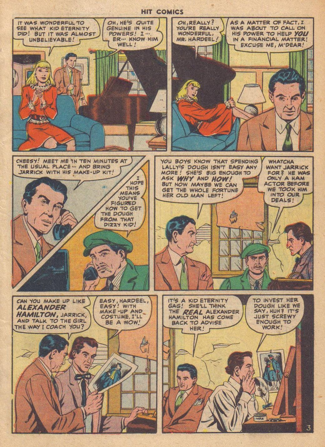 Read online Hit Comics comic -  Issue #46 - 5