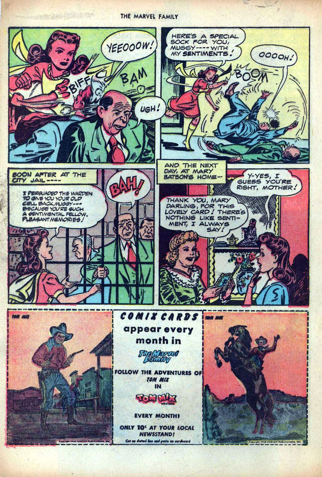 The Marvel Family issue 25 - Page 32