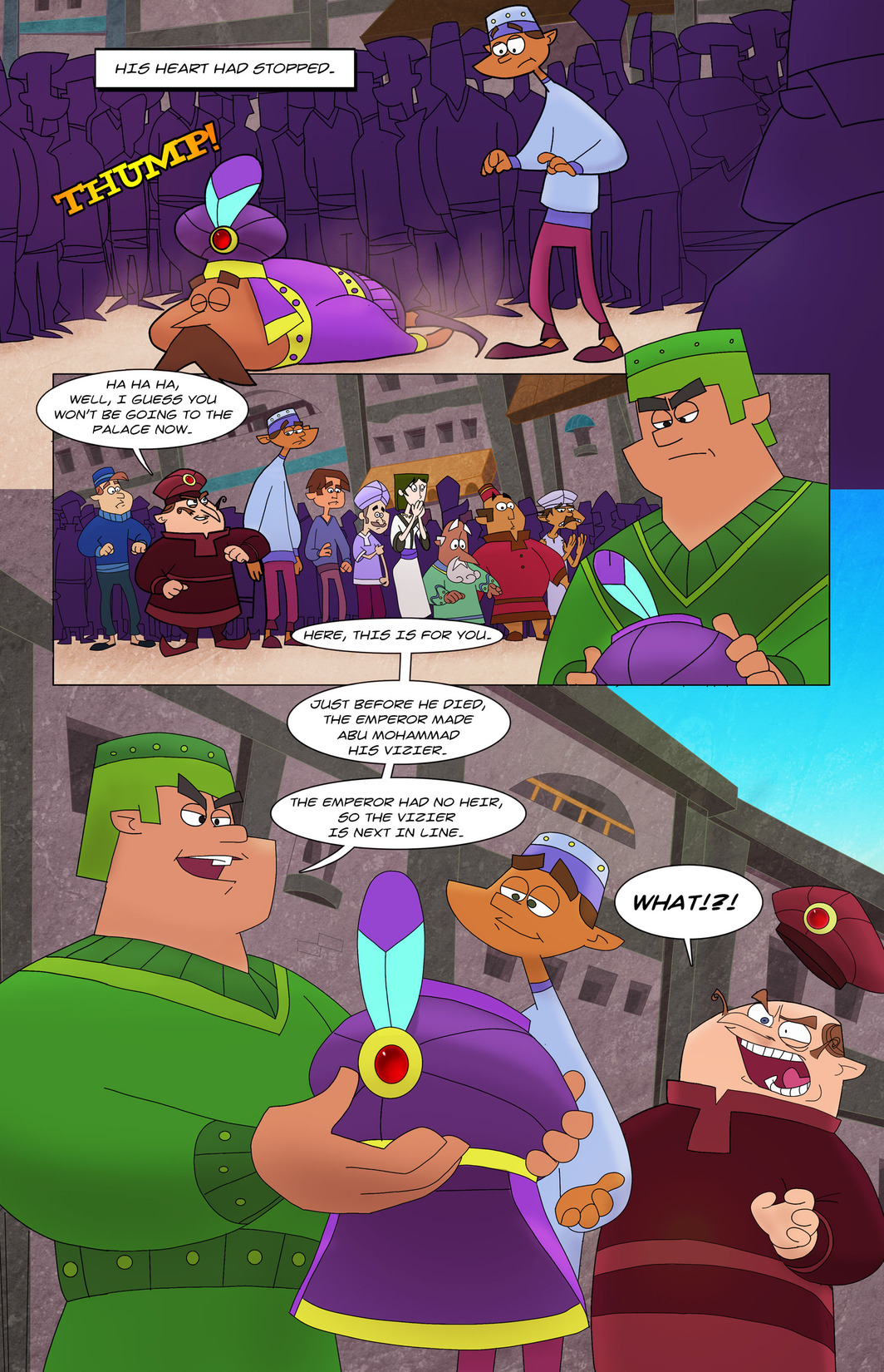 Read online 1001 Nights comic -  Issue #8 - 21