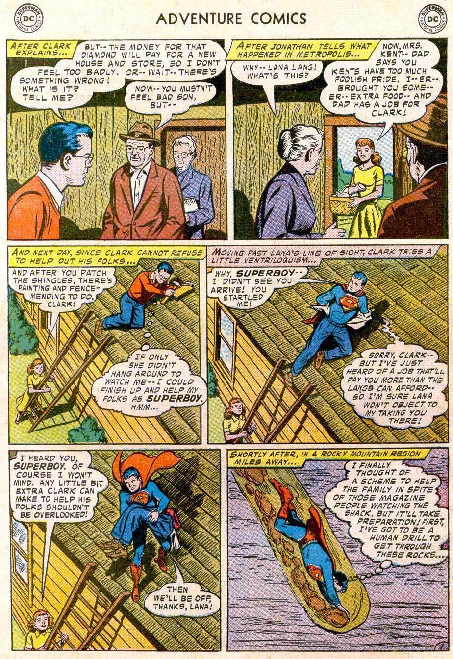 Read online Adventure Comics (1938) comic -  Issue #244 - 9