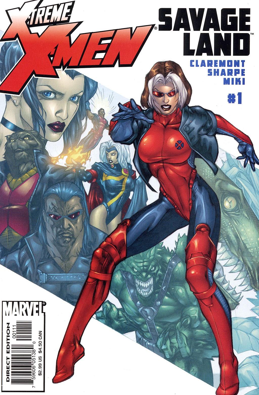 X-Treme X-Men: Savage Land 1 Page 1