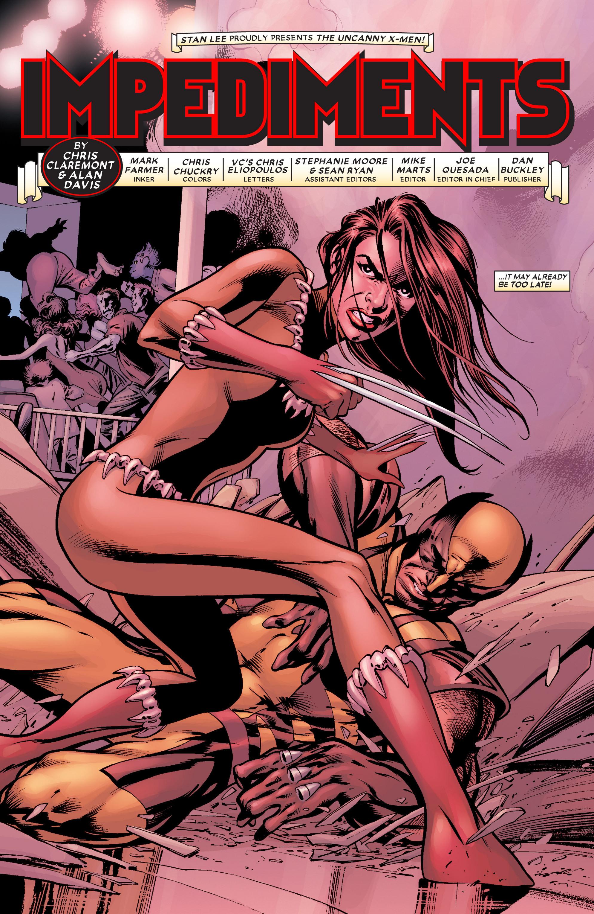 Read online Uncanny X-Men (1963) comic -  Issue #451 - 4