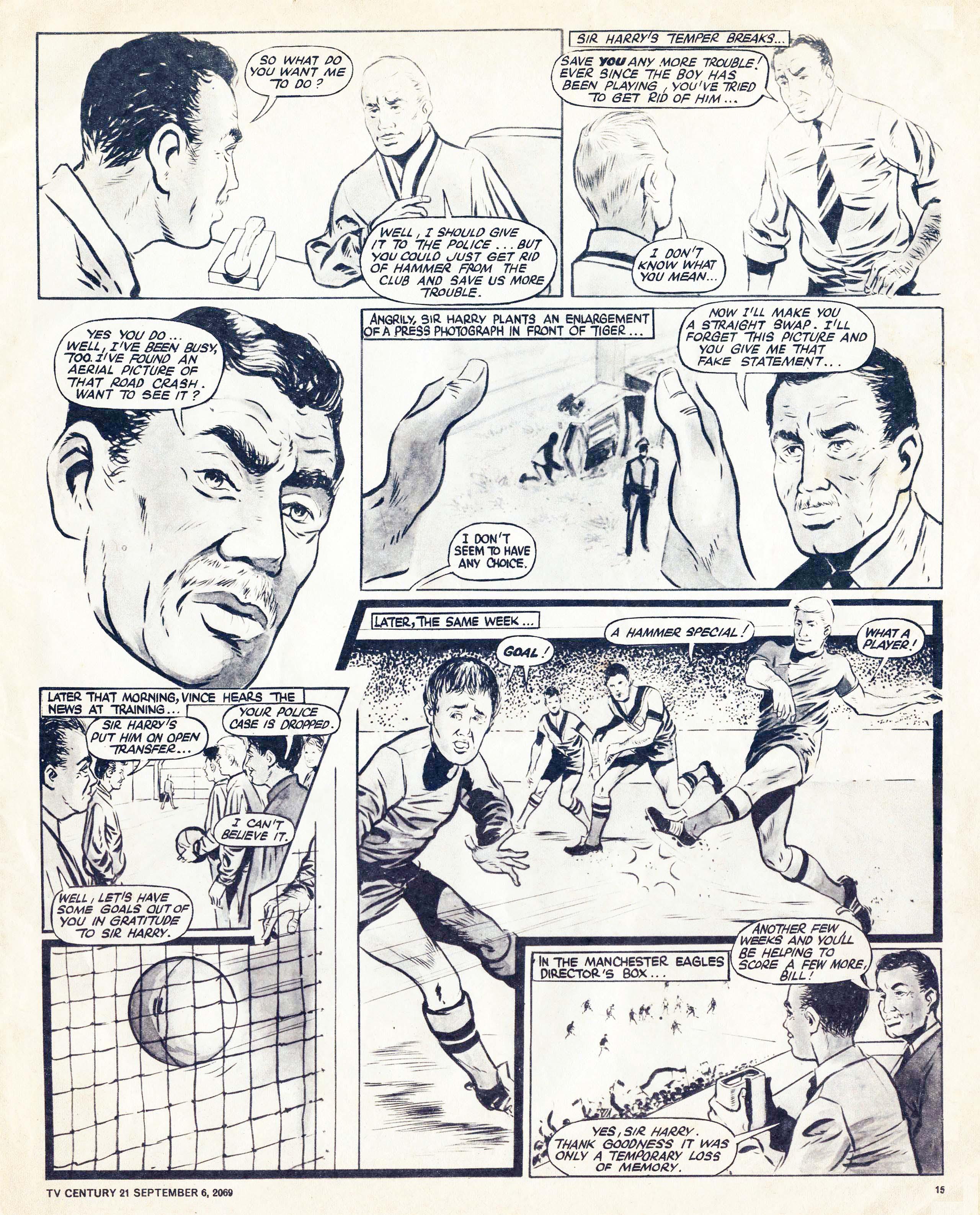 Read online TV Century 21 (TV 21) comic -  Issue #242 - 15