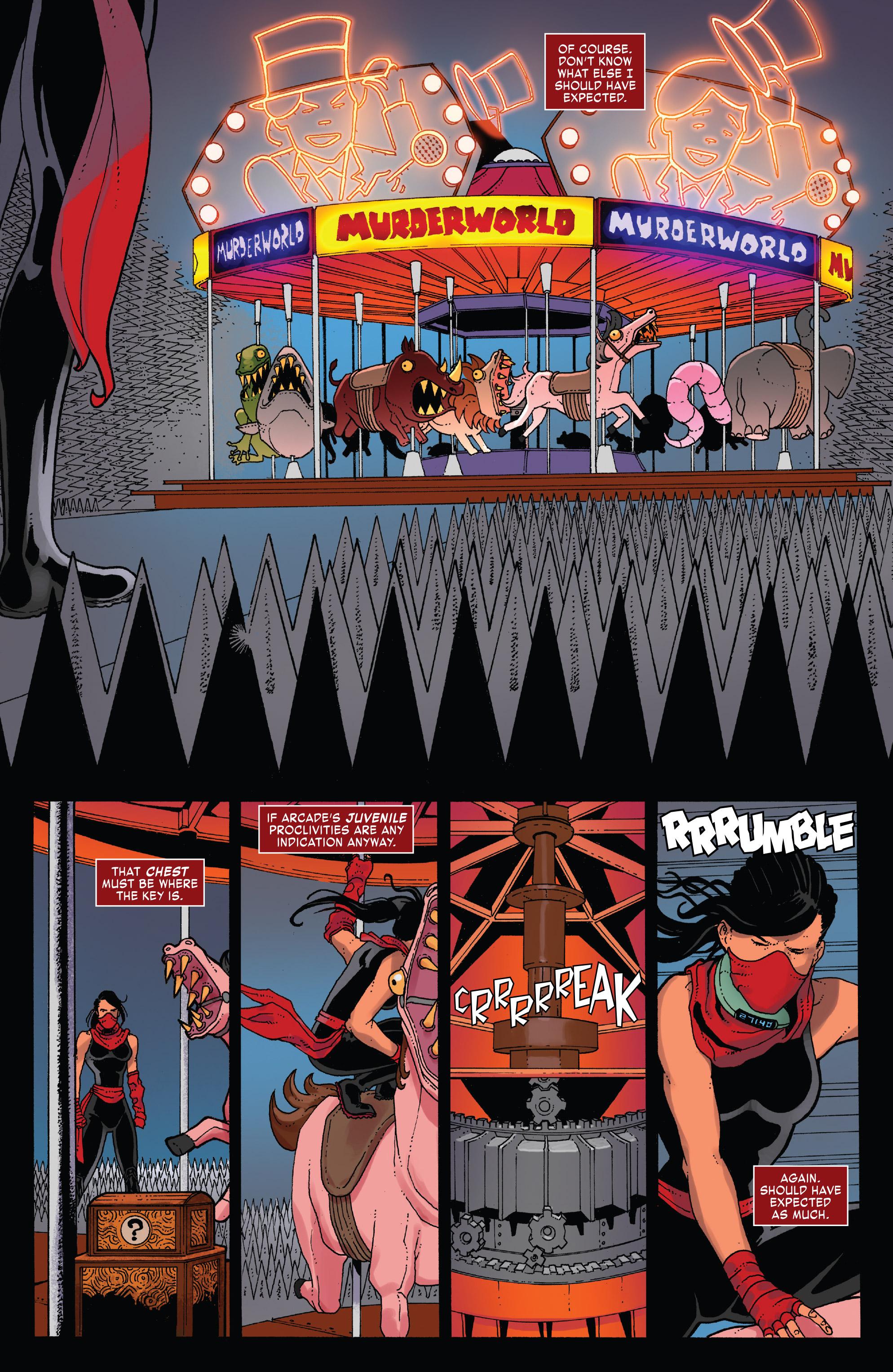 Read online Elektra (2017) comic -  Issue #4 - 6