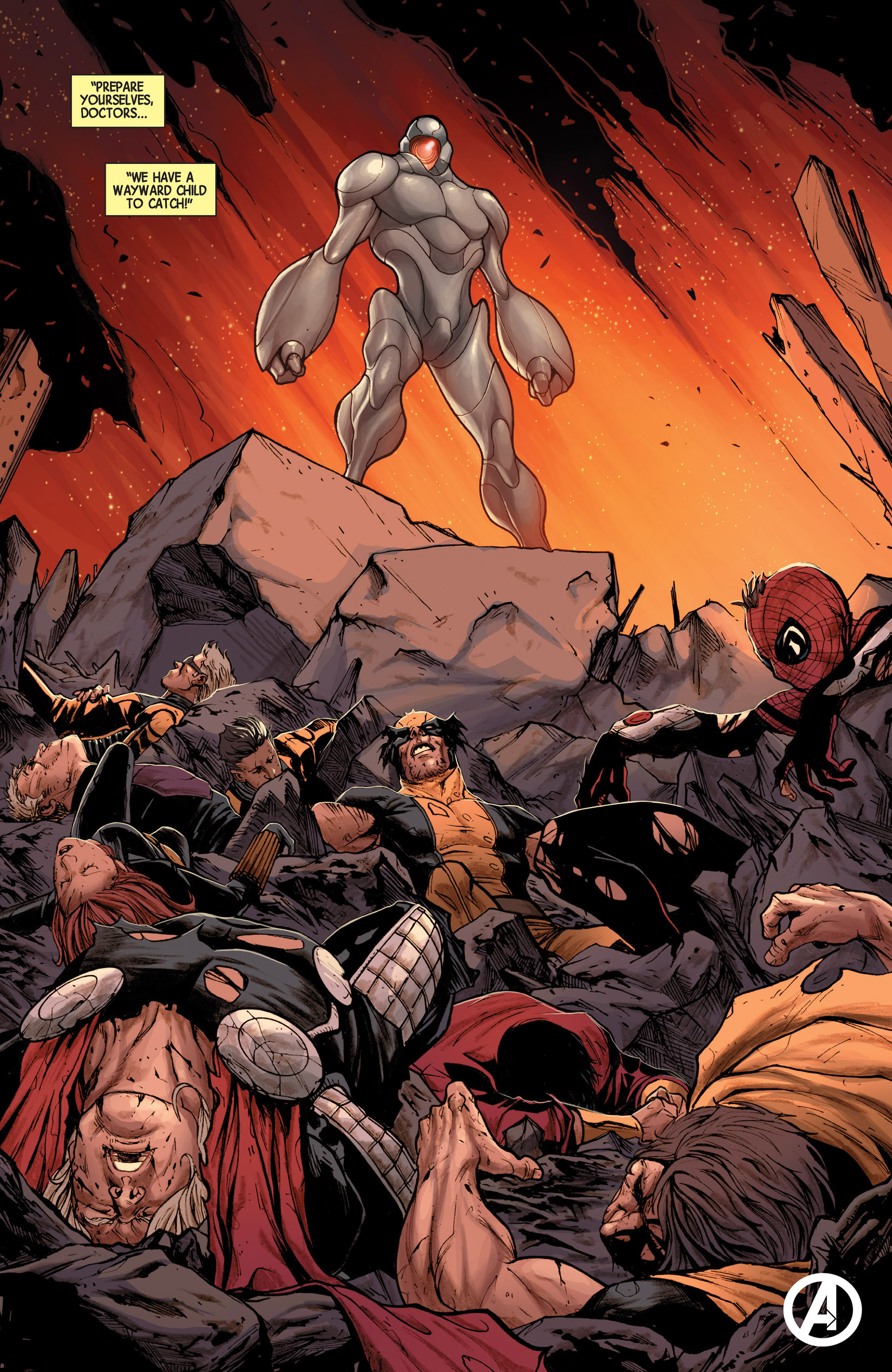Read online Avengers (2013) comic -  Issue #16 - 24