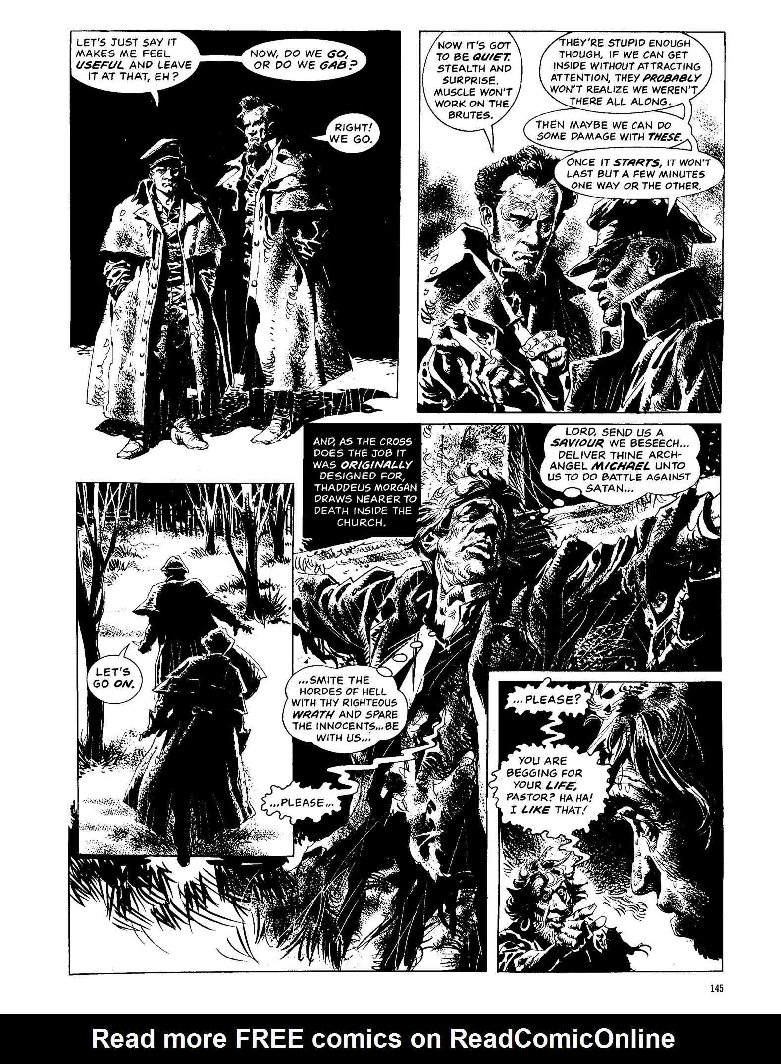 Read online Eerie Archives comic -  Issue # TPB 13 - 146
