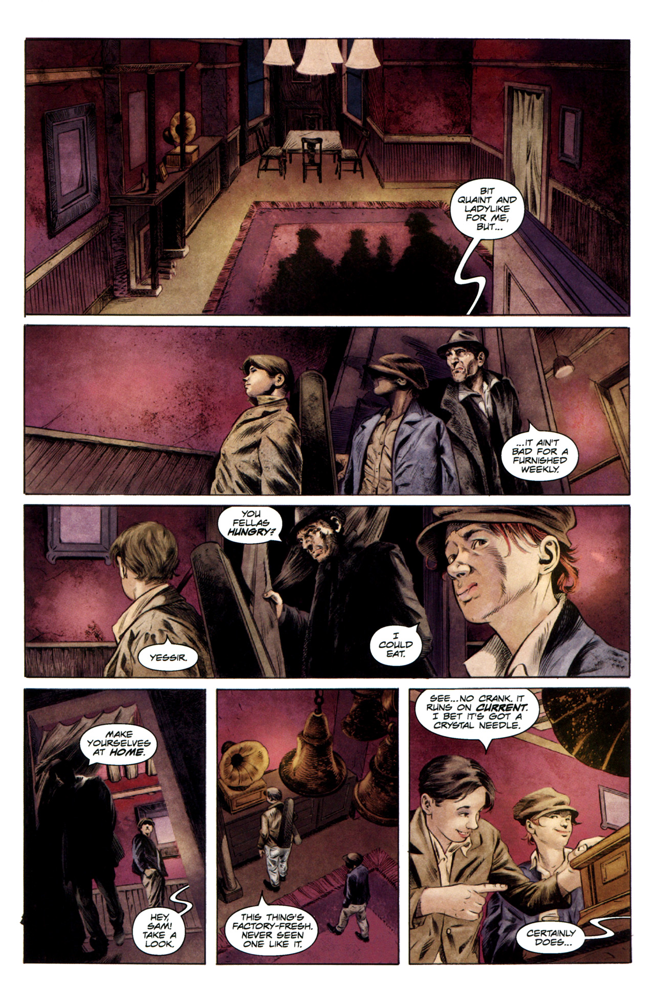Read online Severed comic -  Issue #3 - 13