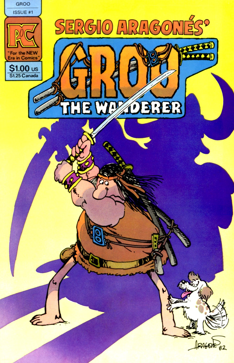 Groo the Wanderer 1 Page 1