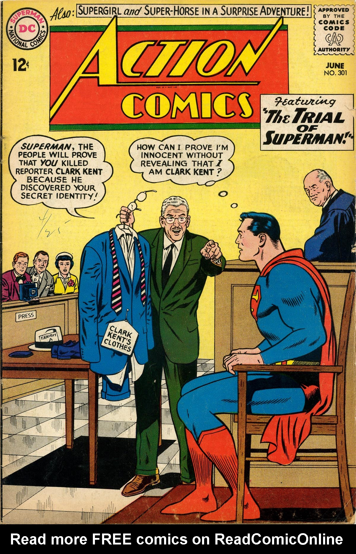 Read online Action Comics (1938) comic -  Issue #301 - 1