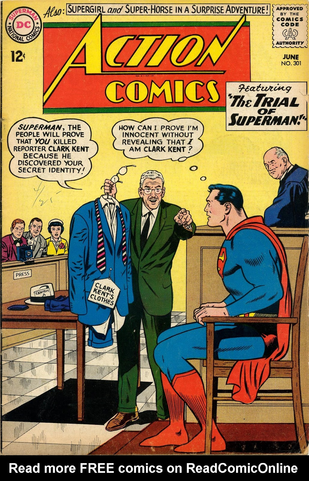 Action Comics (1938) 301 Page 1