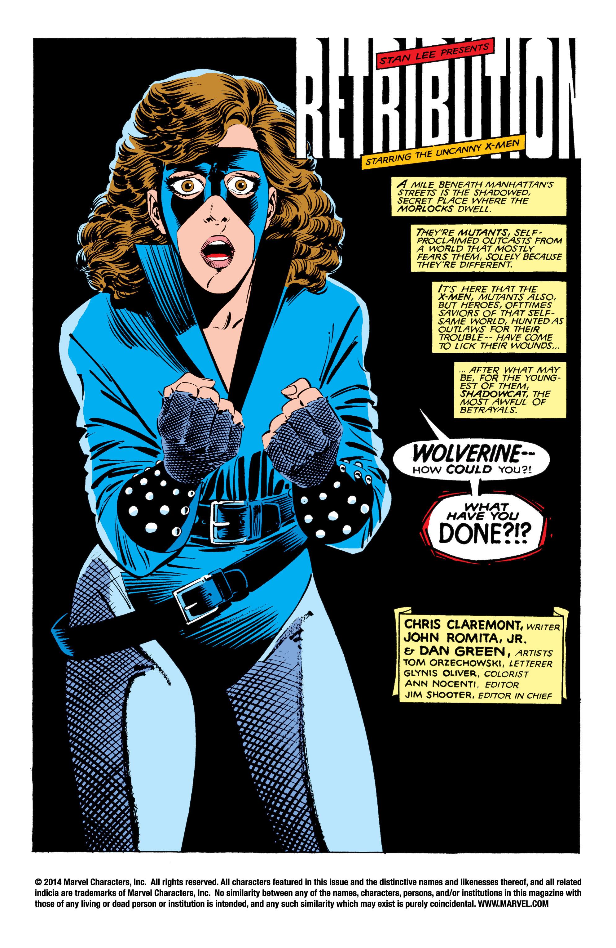 Read online Uncanny X-Men (1963) comic -  Issue #208 - 2