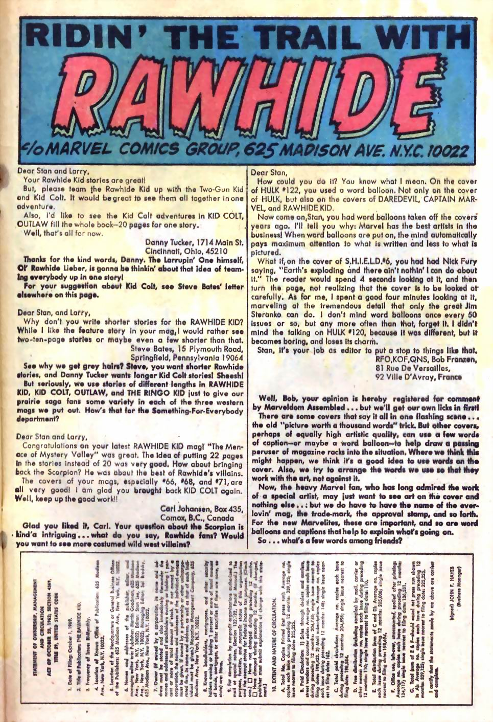 The Rawhide Kid (1955) issue 75 - Page 33