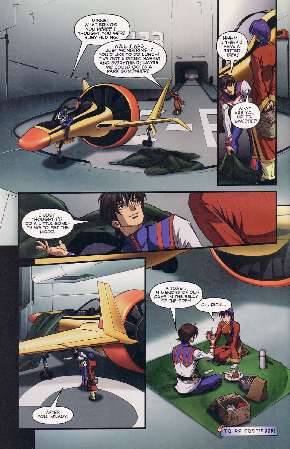 Read online Robotech: Love and War comic -  Issue #2 - 24
