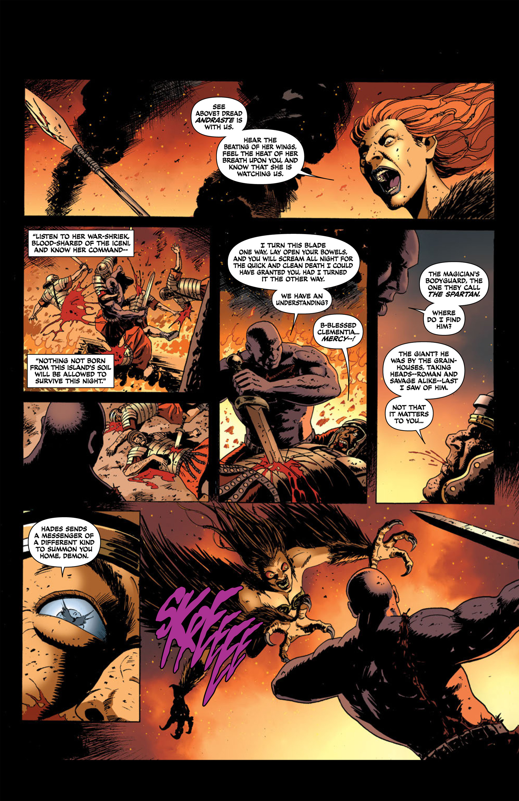 Read online Aquila comic -  Issue #2 - 10