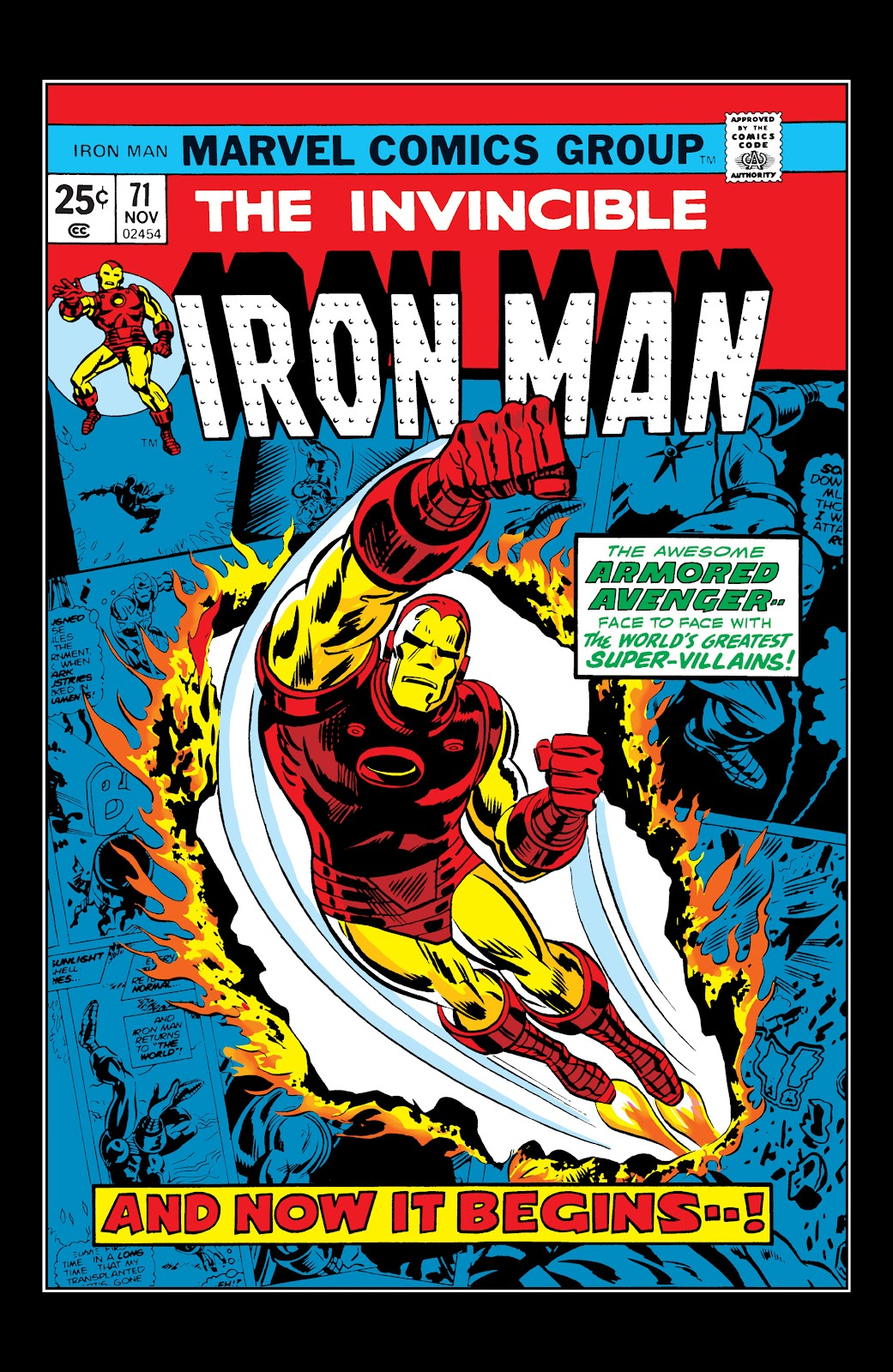 Read online Marvel Masterworks: The Invincible Iron Man comic -  Issue # TPB 10 (Part 1) - 62