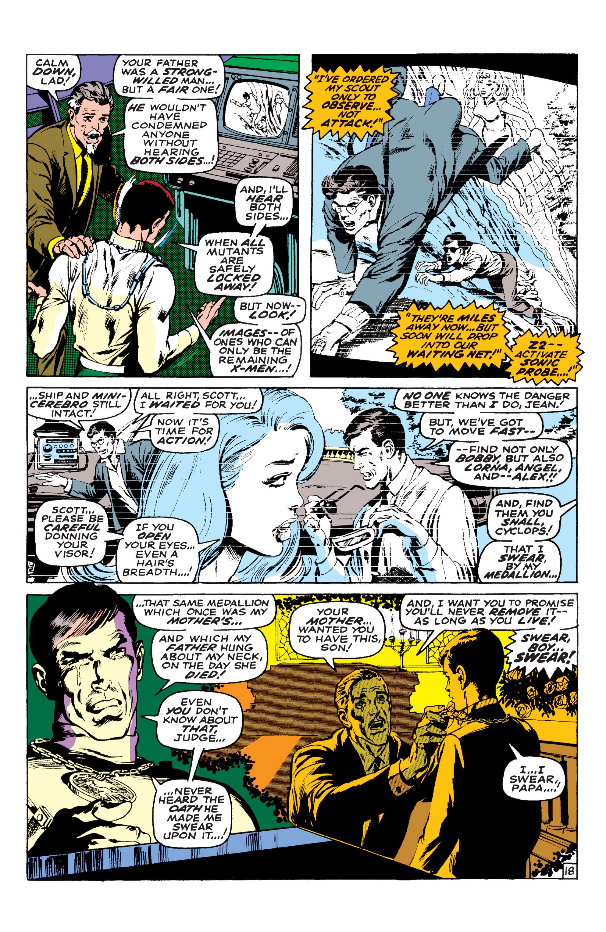 Read online Uncanny X-Men (1963) comic -  Issue #58 - 18