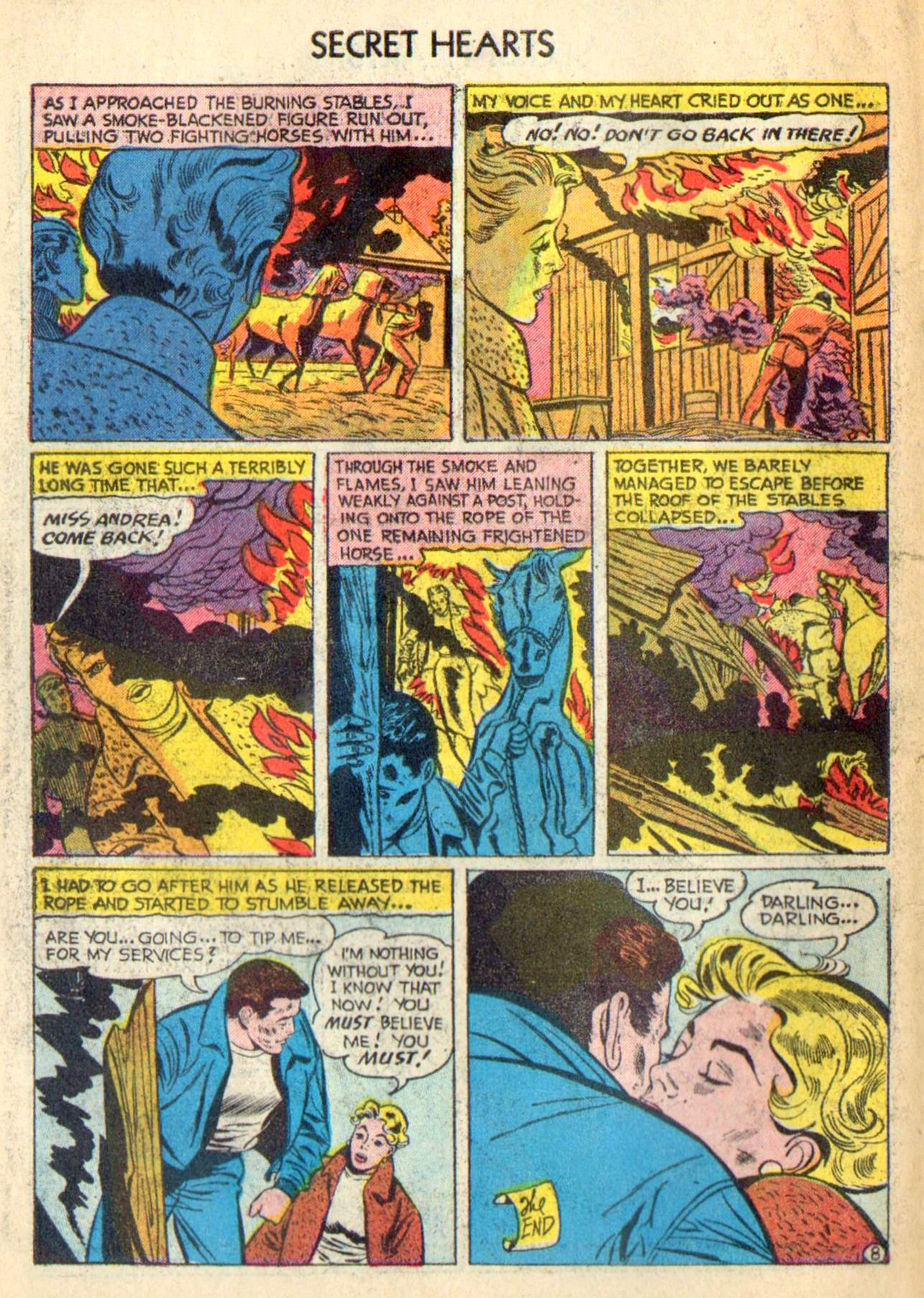 Read online Secret Hearts comic -  Issue #31 - 34