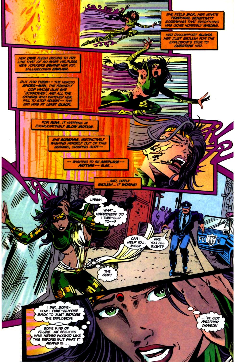 The New Warriors Issue #71 #75 - English 8