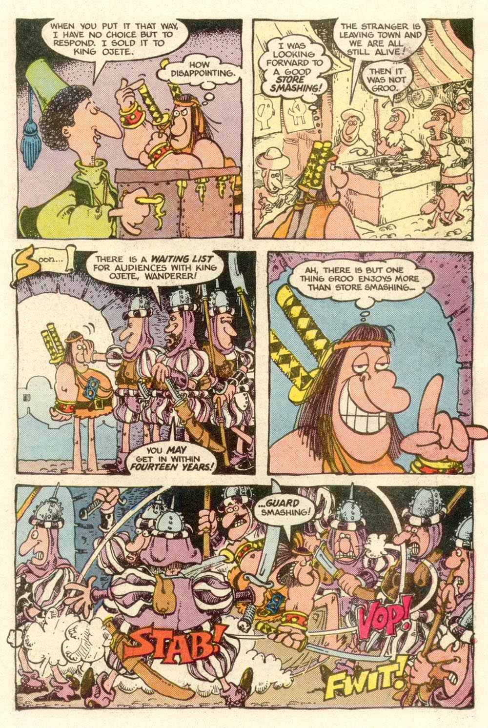Read online Sergio Aragonés Groo the Wanderer comic -  Issue #6 - 9