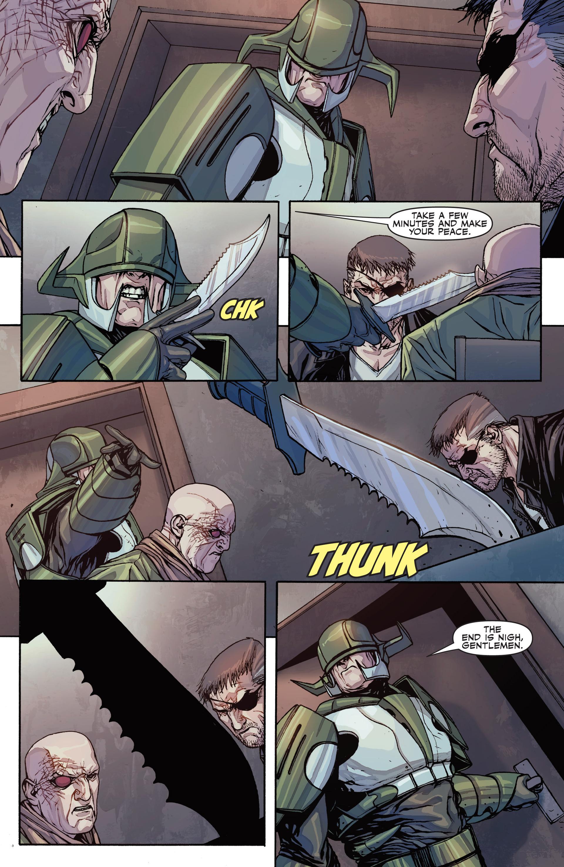 Read online Secret Warriors comic -  Issue #26 - 5