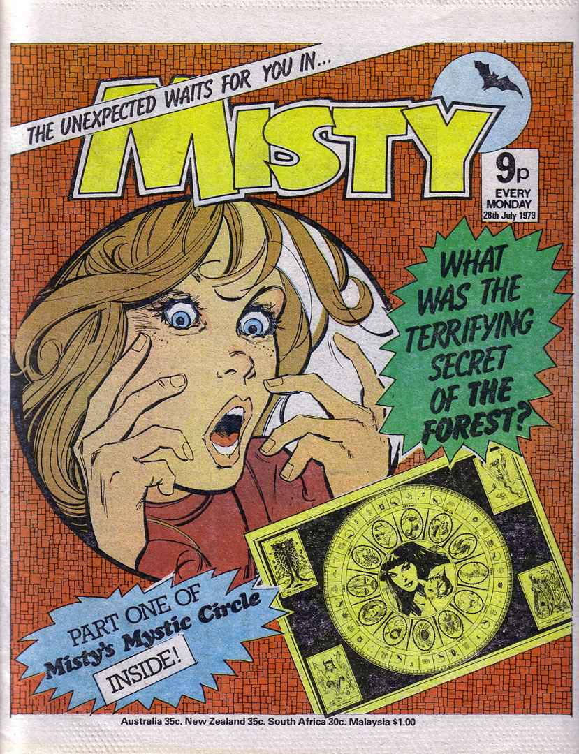 Read online Misty comic -  Issue #77 - 1