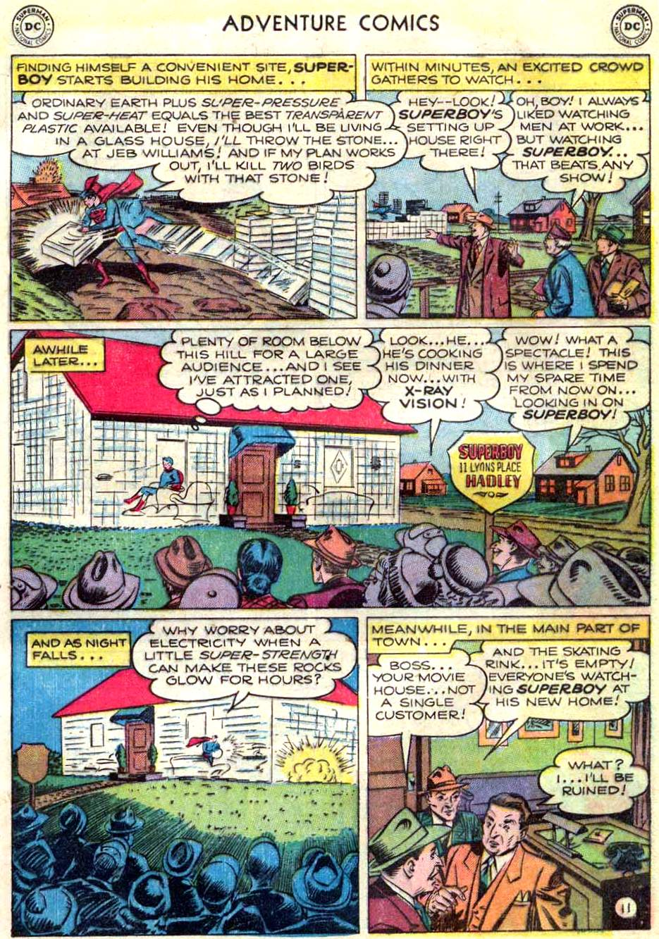 Read online Adventure Comics (1938) comic -  Issue #166 - 12