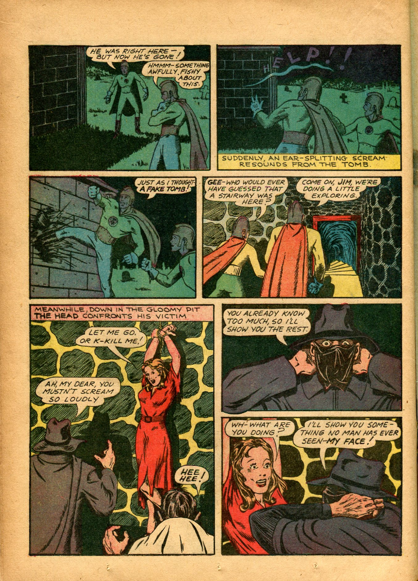 Read online Shadow Comics comic -  Issue #8 - 28
