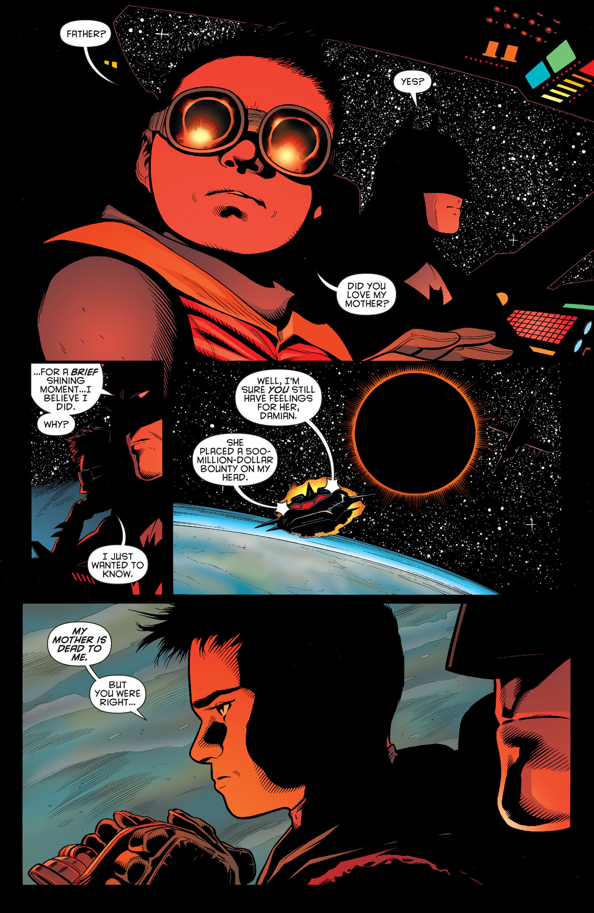 Read online Batman and Robin (2011) comic -  Issue #13 - 7