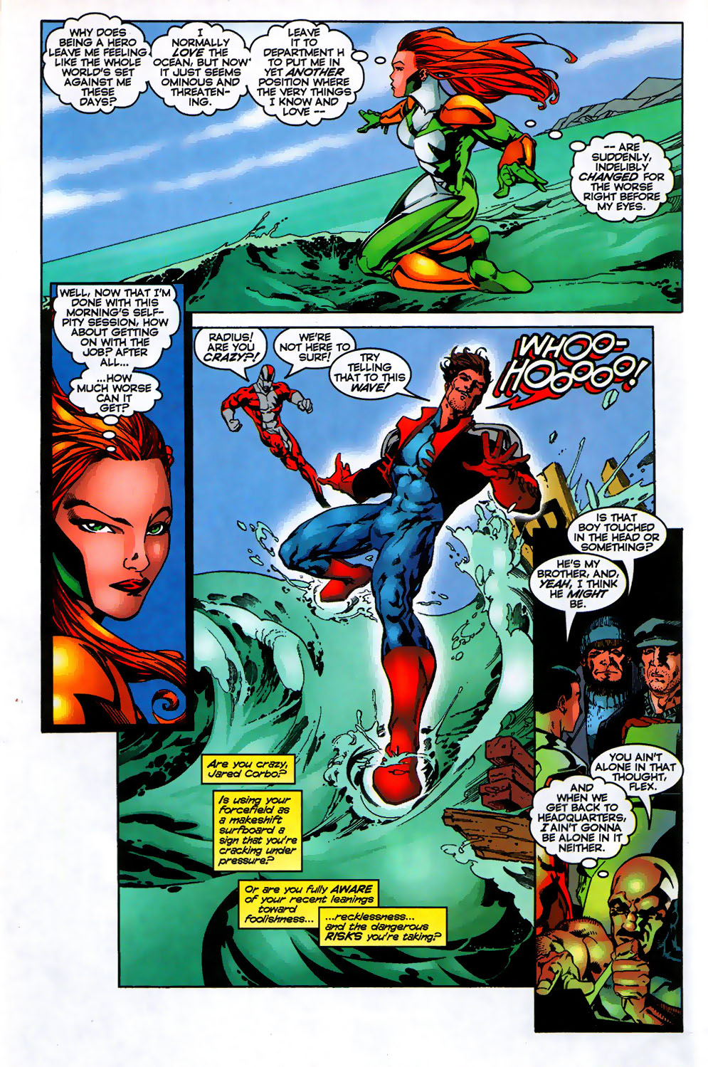 Read online Alpha Flight (1997) comic -  Issue # _Annual - 7