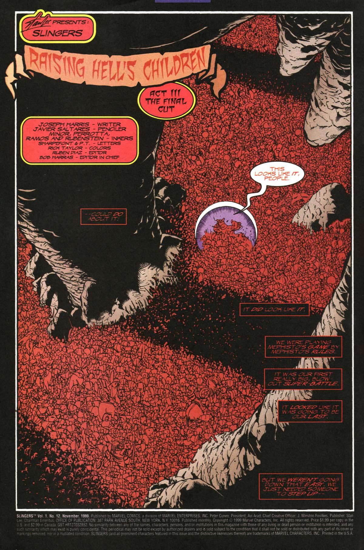 Read online Slingers comic -  Issue #12 - 3